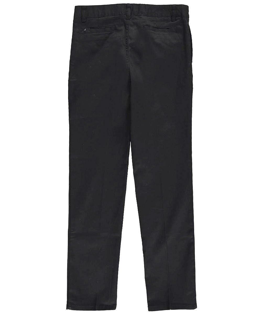 French Toast Big Girls Stretch Twill Uniform Pants Black 10