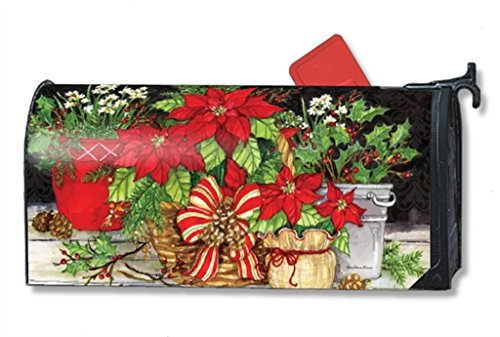 MailWraps Christmas Beauty MailWrap Mailbox Cover 00121