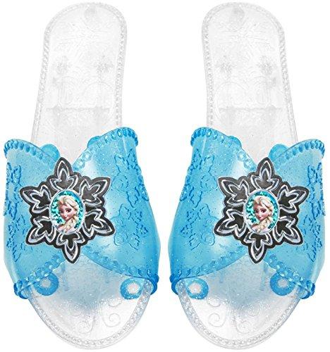 Elsa Frozen Costume Shoes (Frozen 94516-COM Frozen Elsa Shoes Costume)