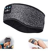 Sleep Headphones Bluetooth Sports Headband, Wireless Music Headband Headphones, IPX6 Waterproof H...