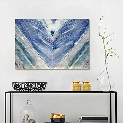 Onyx Dvd Holder - one1love Marble Anti-Fading Oil Painting Tribal Style Onyx Stone Oil Canvas Painting Wall Art W47 xL31