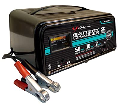Schumacher SE-5212A 2/10/50 Amp Automatic Handheld Battery Charger by Schumacher