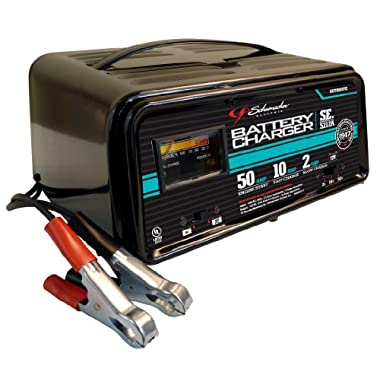 Schumacher SE-5212A 2/10/50 Amp Automatic Handheld Battery Charger