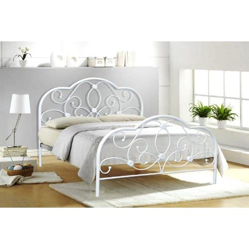 Double Metal Bed Frames: Amazon.co.uk