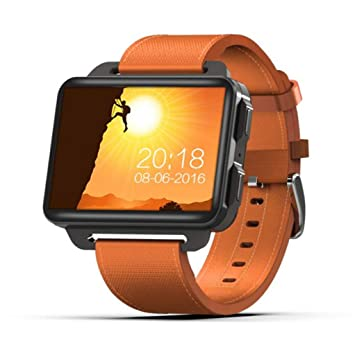 STEAM PANDA Relojes Inteligentes con monitorización de la frecuencia cardíaca WiFi para Hombres Llamada de GPS 3G 1G + 8G 1200 MAh 4 núcleos 1.3GHZ: ...