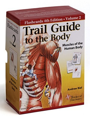 Trail Guide to the Body Flash Cards 5th Edition Volume 2 - Muscles of the Human Body by Books of Discovery