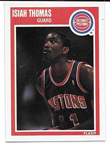 Isiah Thomas 1989-90 Fleer Detroit Pistons Card #50