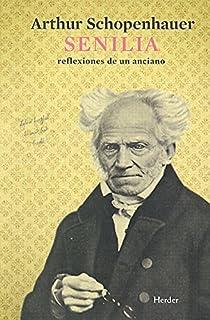 Senilia par Schopenhauer