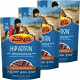 Zuke's 3 Packs Hip Action with Glucosamine and Chondroitin PEANUT BUTTER (3 lb)