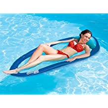 SwimWays Spring Float, Inflatable Pool Lounger, Luxury Lilo