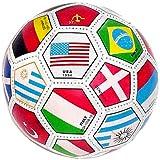 Full Sized World International Soccer Ball, mixed