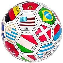 Balón de fútbol T}tamaño Completo World International, mezclado.