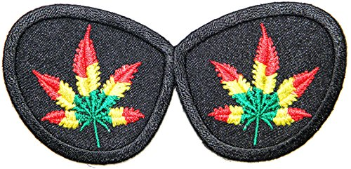SunGlasses Weed Marijuana Pot Leaf Rasta Rastafari Jamaica Africa Reggae Logo Jacket T shirt Patch Sew Iron on Embroidered Badge Sign - Skin Sunglasses Cancer
