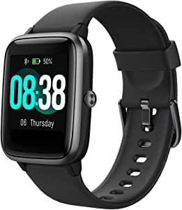 YONMIG Reloj Inteligente Mujer y Hombre, Smartwatch Impermeable ...