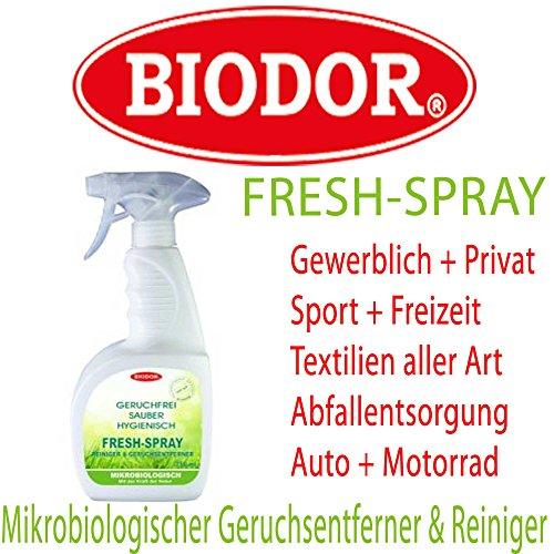 BIODOR® FRESH SPRAY 750ml Sprühflasche mikrobiologischer Geruchsentferner & Reiniger