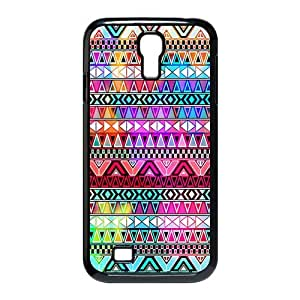 jianshop Clear color high-definition image Aztec Andes Tribal Pattern Custom Design Phone Case SamSung Galaxy S4 I9500 Case