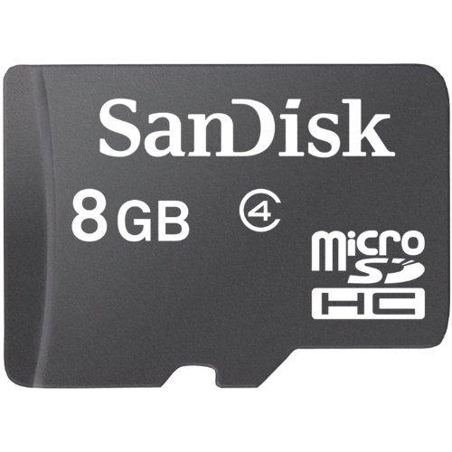Sandisk MicroSDHC Memory Retail Package