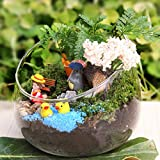Glass Garden Decorations - Nhbr Creativly Glass Small Garden Cloche Plant Flower Cover Home Desktop Decoration - Outdoor