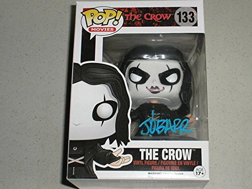 JAMES O'BARR Signed The Crow Funko Pop Figure Autograph A