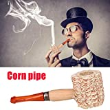 KICODE Cigarettes Cigar Convenient Corn Cob Smoking