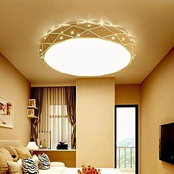 TIANLIANG04 Deckenleuchten Decke Leuchte Leuchten Schlafzimmer, Runde  Led Deckenleuchte Acryl Deckenleuchte Led Deckenleuchte,