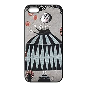 Stylish DIY Fairy Wonderland,Escape Into The Fancy world Design Rubber TPU Shell Protector for Iphone 5 5S