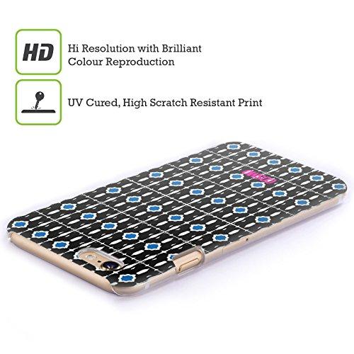 Official Cosmopolitan Black Blue Boho Patterns Hard Back Case for Apple iPhone 5 / 5s / SE