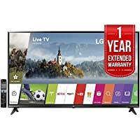 LG 65UJ6300 - 65 Super UHD 4K HDR Smart LED TV (2017 Model) with 1 Year Extended Warranty