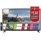 LG 65UJ6300 - 65' Super UHD 4K HDR Smart LED TV (2017 Model) with 1 Year Extended Warranty