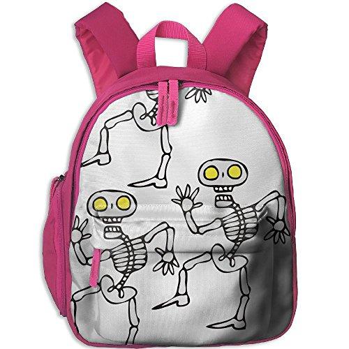 Children Pre School Backpack Boy&girl's Halloween Alien Skeletons