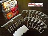 This is an exclusive kit that was on QVC for 5 yrs. It includes (15) Banister Garland Grabbers ®, (10) Mantle Garland Grabbers ®, (10) replacement strips, directions for use, and a vinyl storage bag. This is the All-In-One kit to get.