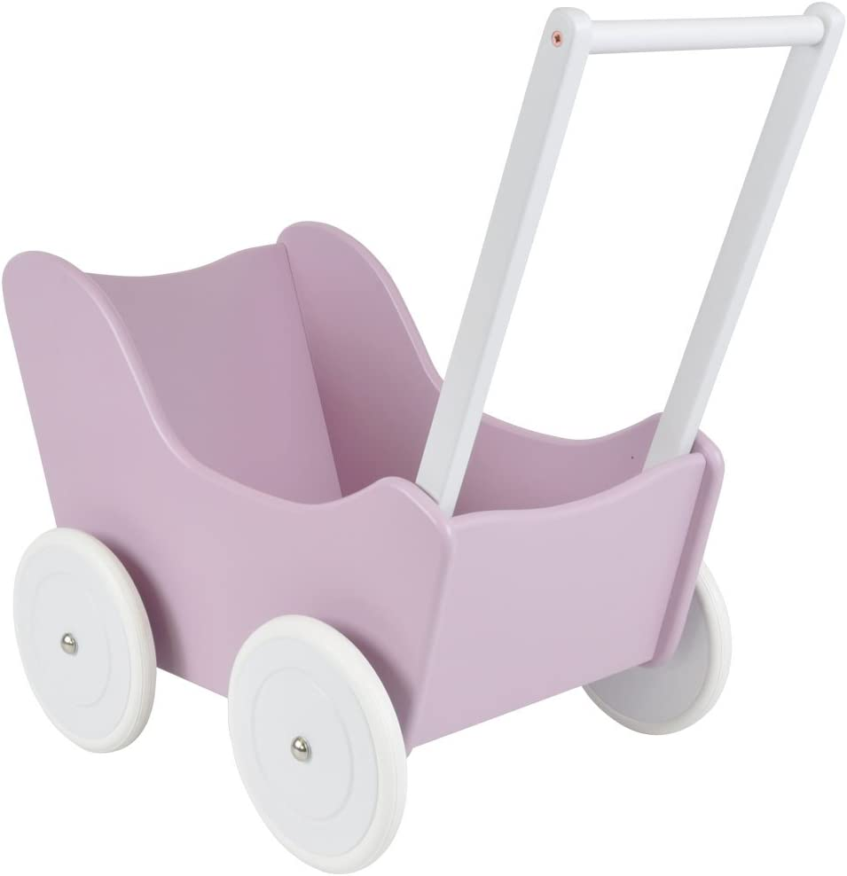 Bandits and Angels Little Angel Holz-Puppenwagen Lilac