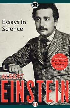 Essays in Science by [Einstein, Albert]