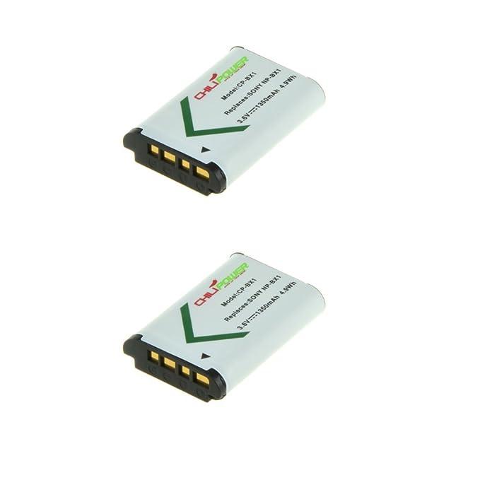 4 opinioni per 2x ChiliPower NP-BX1 Batteria (1350mAh) per Sony Cyber-shot DSC-HX50V,