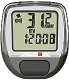 One23 Velo 9W Cardiofréquencemètre 9 fonctions Gris