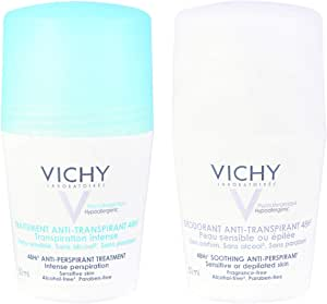 Vichy Unisex Personal Care Set of 2 (Itense 48H and Anti-Transpirant Deodorant 48H) 50 ml