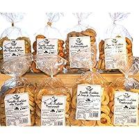 Taralli Pugliesi.Producto de panadería ideal para aperitivos La