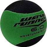 Wave Runner Water Runner Skipping Ball, Green & Black