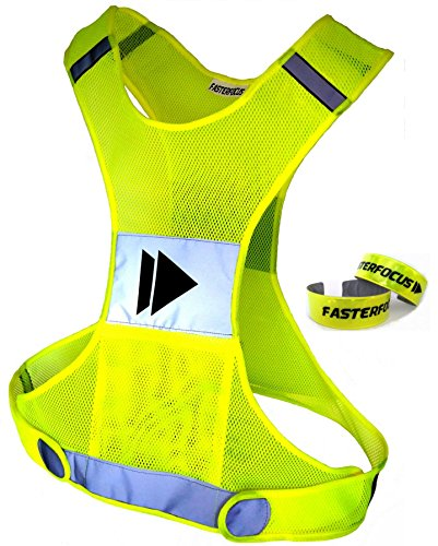 X-large Bright Reflective Safety Vests - 5