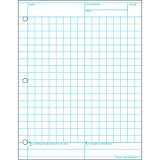 PACON CORPORATION MATHNOTES WHITE 150 CT 8.5 X 11 IN (Set of 24)