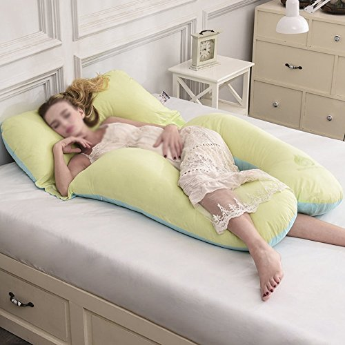 Sleeping Pillow / Waist Side Sleeping Pillow / Pregnant Woman Pillow / Waist Cushion / Multifunctional care belly pillow / washable Pregnant women pillow ( Color : C ) by Pregnant women pillow