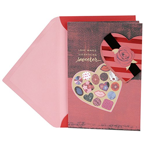 Hallmark Valentine's Day Card (Love Makes Everything Sweeter) (Day Card Love Valentines)