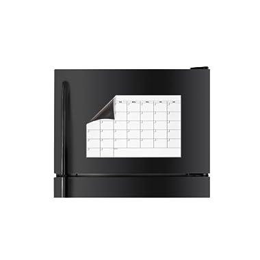 Dry Erase Refrigerator Calendar Magnet 11  Tall x 17  Wide