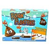 LOOPY Funny Bath Fishing Kids Game - 1 Fishing Rod, 1 Net & 6 Floaters - Educational, Creative & Sensory Toys - Improve Hand to Eye Coordination, Develop Fine Motor Skills, Enhance Patience