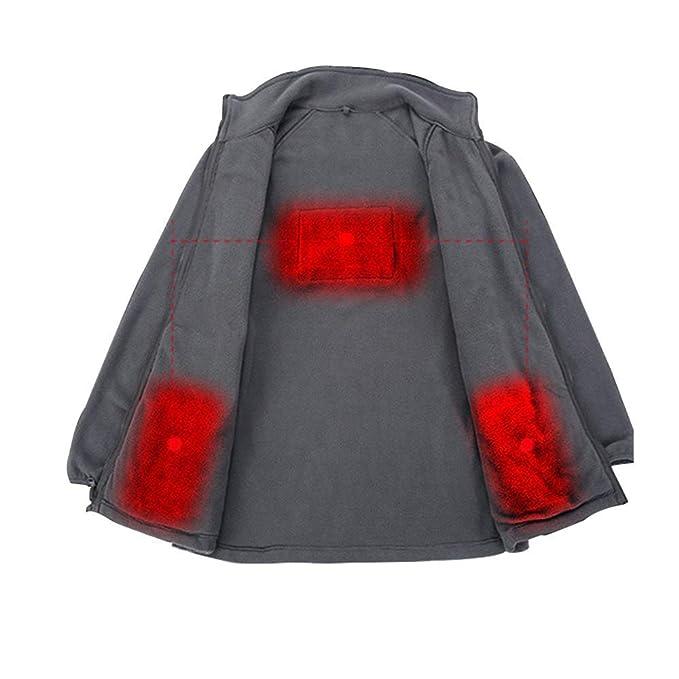 Amazon.com: DressTime - Chaqueta térmica de forro polar para ...