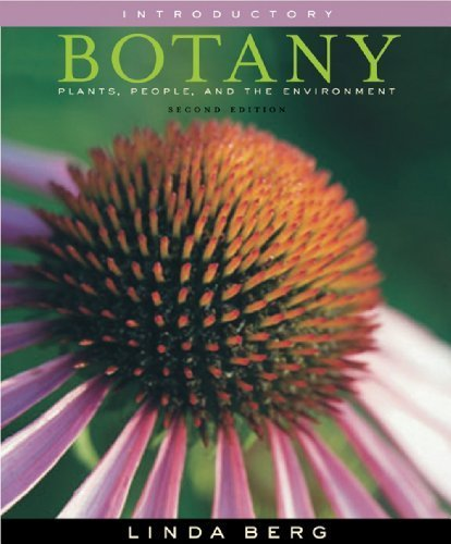 Coloring Book for Berg's Introductory Botany: Plants, People, and the Environment 1st edition by Berg, Linda R. (2008) Paperback (Introductory Botany Plants People And The Environment)