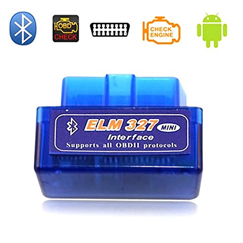 Qjoy Mini ELM327 OBDII OBD2 Bluetooth Car Diagnostic Scan Tool Auto OBD Scanner for Android Devices 109222