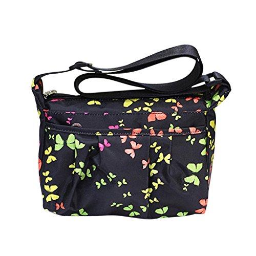 Women Cross Body Bags,Halijack Lady Girl Lovely Animal Prints Waterproof Nylon Shoulder Bag Fasion Zipper Single Satchel Handbag Messenger Bag Multicolorb