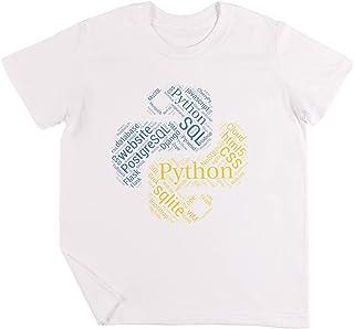 Vendax Pitone Programmatore & Sviluppatore Maglietta & Felpa con Cappuccio Nuovo Bambini Ragazzi Ragazze Unisex Maglietta Bianca