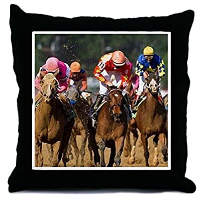 CafePress - Coming In For The Finish Of The All-F - Throw Pillow, Decorative Accent Pillow